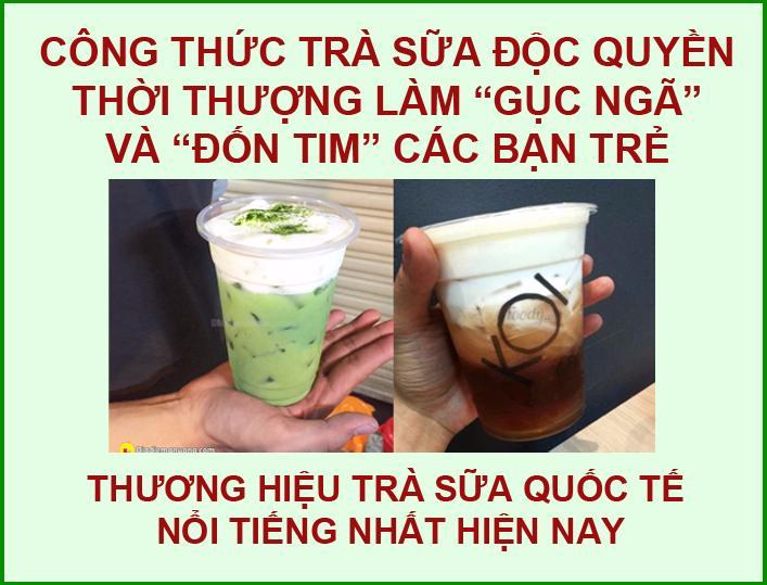 Khóa dạy học cách làm pha chế trà sữa ngon ở đâu tại TPHCM