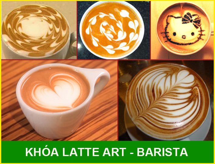 khóa hoc latte art - barista